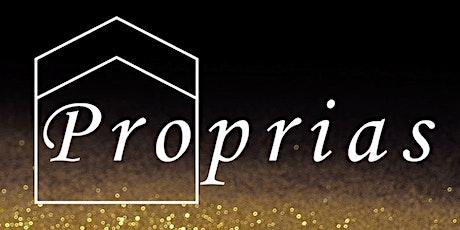 Gala Proprias - Vendredi 28 février 2020 tickets