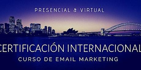 Curso Email Marketing Certificado boletos