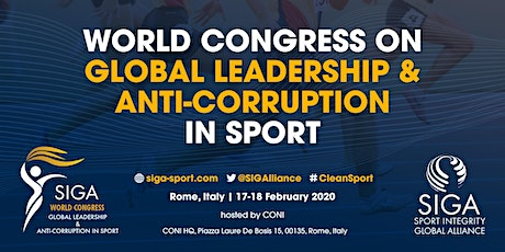 World Congress on  Global Leadership & Anti-Corruption in Sport tickets