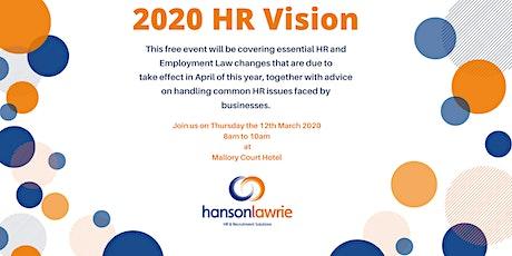 2020 HR Vision tickets
