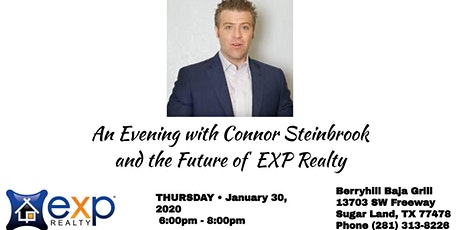An Evening with Connor Steinbrook and the future of EXP Realty tickets