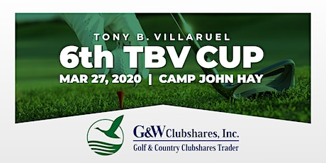 6th TBV CUP Golf Tournament tickets