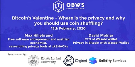 Bitcoin's Valentine - Why you should use coin shuffling? tickets