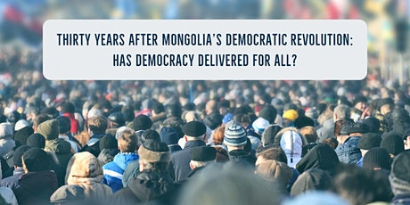 Thirty Years After Mongolia's Democratic Revolution tickets