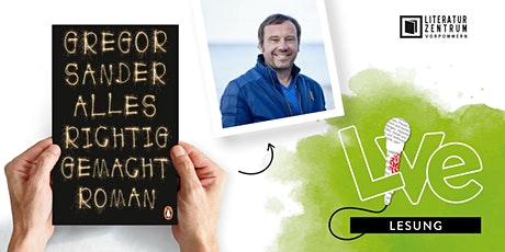 LESUNG: Gregor Sander Tickets