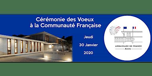 Cérémonie des voeux à la communauté française 2020