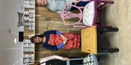 Furniture painting and upholstery workshop tickets
