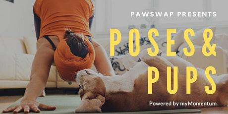 PawSwap presents Poses & Pups Powered by myMomentum at RYU W4th tickets