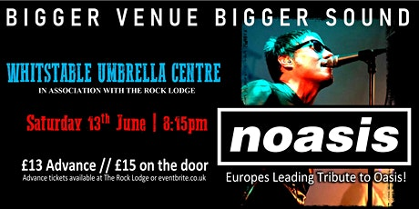 Noasis (Oasis Tribute) live in Whitstable tickets