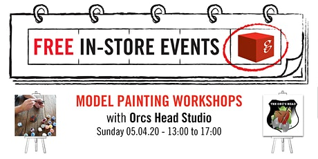 Model Painting Workshop - Advanced Painting Techniques & Scenic Bases tickets