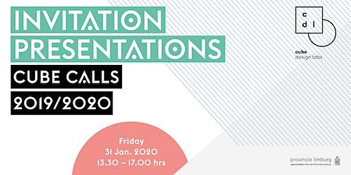 Final presentations Cube Calls 2019/2020