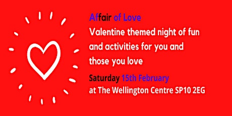 Affair of Love: a valentine themed night of fun and activities tickets
