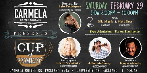 Stand Up Comedy | Dougie Almeida | Carmela Coffee (Parkland)