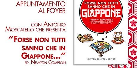 Appuntamento al Foyer con  Antonio Moscatello biglietti