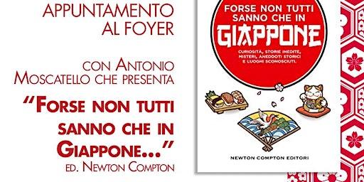 Appuntamento al Foyer con  Antonio Moscatello