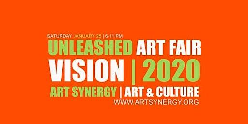 This Saturday: Unleashed Art Fair | Vision 2020