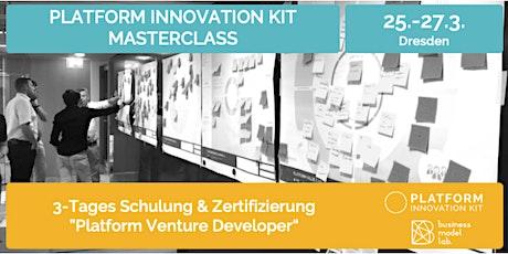 Schulung + Zertifizierung zum Platform Venture Developer Tickets