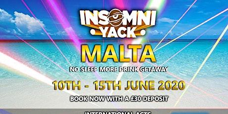 InsomniYack - Malta tickets