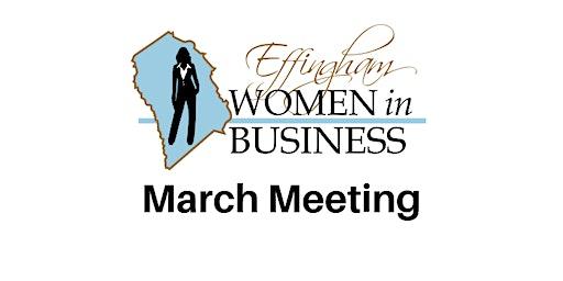 EWIB March 2020 Meeting