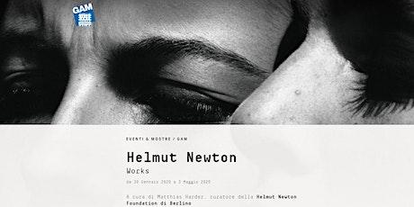 "Visita alla mostra ""Works"" - Helmut Newton biglietti"