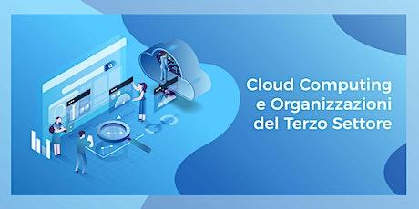 Cloud Computing e Organizzazioni del Terzo Settore biglietti