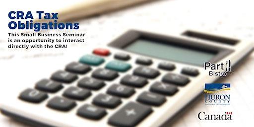 CRA Tax Obligations