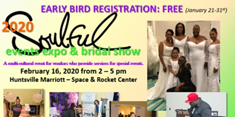 2020 Soulful Events Expo Registration - Attendees tickets