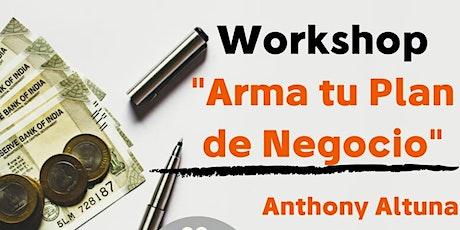 Workshop Plan de Negocios entradas