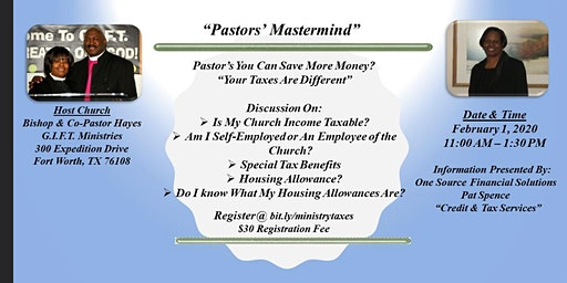 How Taxes Effect Ministers, Pastors, All Clergy Income