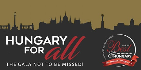 27th Best of Budapest & Hungary Annual Award Gala tickets