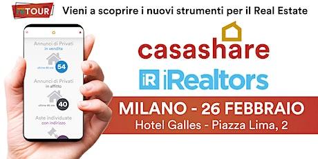 Aula formativa con Casashare ed iRealtors a Milano biglietti