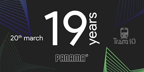 Panama 19 Years Anniversary | Tram 10 tickets