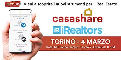 Aula formativa con Casashare ed iRealtors a Torino biglietti