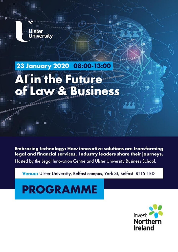 AI in the Future of Law and Business image