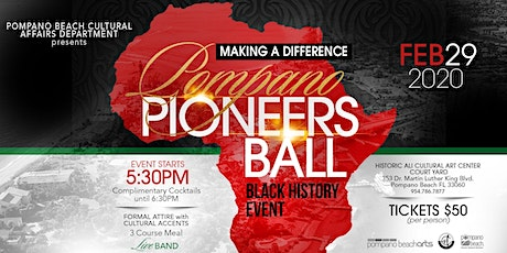Black History Pompano Pioneers Ball tickets