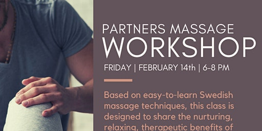 Partners Massage Workshop
