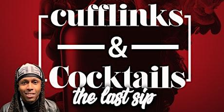 """Cufflinks & Cocktails """"Tournament Edition"""" tickets"""