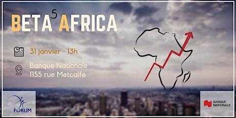 [SOLD OUT] Bêta Africa - 5e édition billets