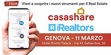 Aula formativa con Casashare ed iRealtors a Genova biglietti