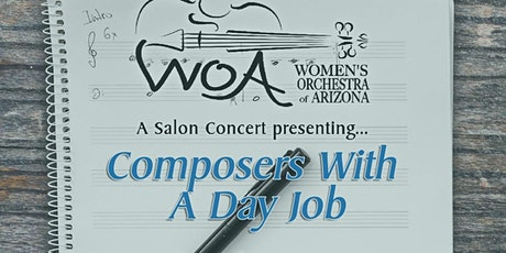 Salon concert presenting Composers With a Day Job. tickets