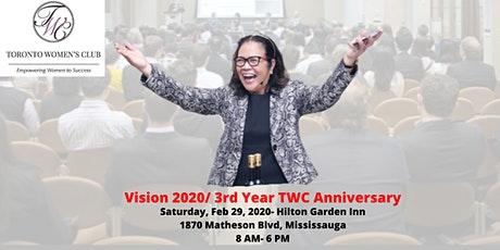 VISION  2020: CREATE THE LIFE YOU DREAM tickets