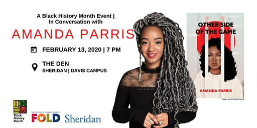 In Conversation with Amanda Parris – A Black History Month Event