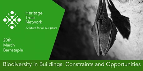 Postponed: Biodiversity in Buildings: Constraints and Opportunities tickets