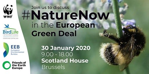 #NatureNow in the European Green Deal