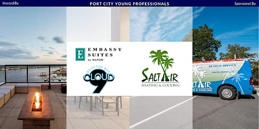 PCYP Sponsored by Salt Air Heating & Cooling, Hosted by Cloud 9 Rooftop Bar