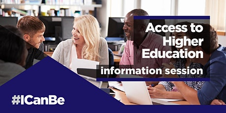 Access to Higher Education - Information Session (starting September 2020) tickets
