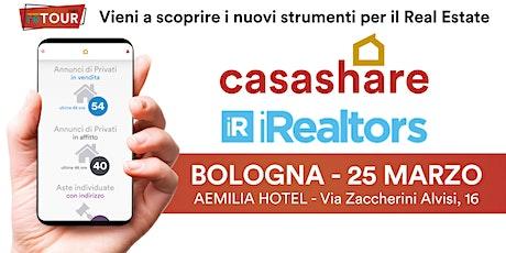 Aula formativa con Casashare ed iRealtors a Bologna biglietti