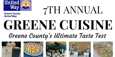 Greene County United Way's 7th Annual Greene Cuisine tickets