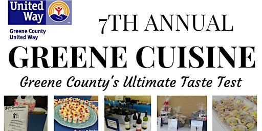 Greene County United Way's 7th Annual Greene Cuisine