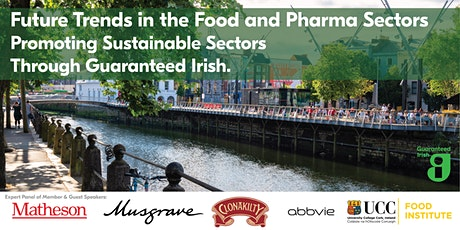 Future Trends in the Food and Pharmaceutical Sectors - Cork tickets